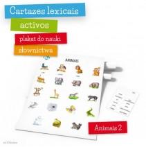 Cartazes lexicais activos - Animais – parte 2 - 9788364730740