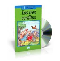 Los tres cerditos + CD audio - 9788881482504