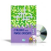 L'Italiano con le parole crociate 3 + CD-ROM - 9788853619228