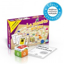 La planète en jeu - gra językowa z polską instrukcją i suplementem - 9788853622877