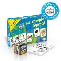 Le monde animal - gra językowa z polską instrukcją i suplementem - 9788853622822