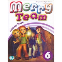 Merry Team 6 Activity Book + Pupil's CD audio - 9788853611055