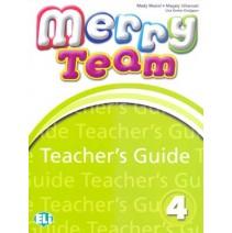 Merry Team 4 Teacher's Guide + 2 Class CD audio - 9788853611802