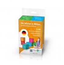Die Wörter in Aktion - gra językowa - 9788394812232
