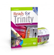 Ready for Trinity - Grades 3-4 + Audio CD - 9788853622495