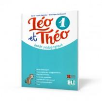 Léo et Théo 1 - guide pédagogique + 2 CD audio + DVD - przewodnik metodyczny - 9788853623515