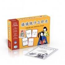 Cāicāi zuò shénme zhíyè - gra językowa do nauki nazw zawodów po chińsku - 9788853623355