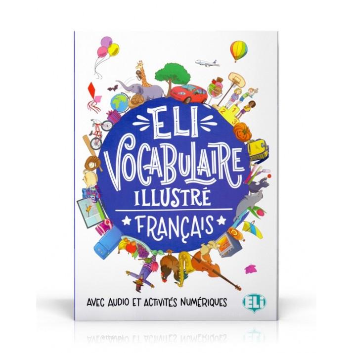 """Recenzje #179 - """"ELI Vocabulaire illustré français"""" - okładka słownika - Francuski przy kawie"""