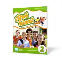 ¡Qué bien! 2 - libro del alumno + libro digital - książka ucznia + wersja interaktywna - 9788853623409