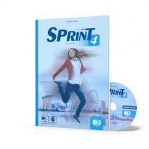 Sprint 4 - Workbook + CD Audio - 9788853624123