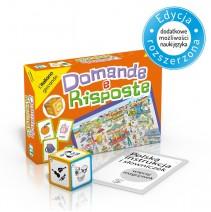 Domande e risposte - gra językowa z polską instrukcją i suplementem - 9788853611697
