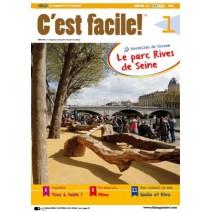 C'est facile! (wersja PDF) - prenumerata archiwalna na rok szkolny 2017/2018 + audio mp3