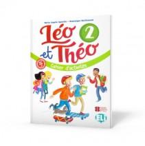 Léo et Théo 2 - cahier d'activités + CD audio - zeszyt ćwiczeń - 9788853623522