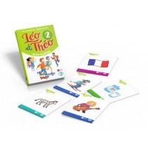 Léo et Théo 2 - cartes illustrés - karty obrazkowe - 9788853624949
