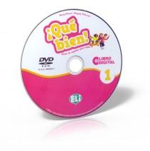 ¡Qué bien! 1 - libro digital - podręcznik + ćwiczenia + przewodnik na DVD-ROM - 9788853624857