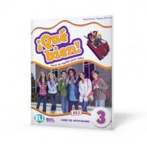 ¡Qué bien! 3 - libro de actividades + audio CD - zeszyt ćwiczeń z nagraniami audio - 9788853623430