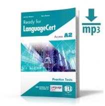 Ready for LanguageCert - Acces A2 + mp3 - 9788853626714
