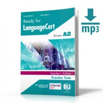 Ready for LanguageCert - Acces A2 + mp3 - Teacher's Version - 9788853626691
