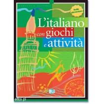 L'italiano con giochi e attività 1 livello elementare - 9788881488254