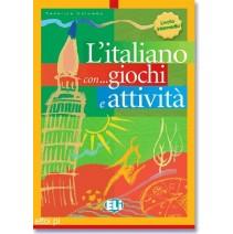 L'italiano con giochi e attività 3 livello intermedio - 9788853601339