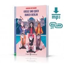 Kreuz und quer durch Berlin + mp3 audio - 9788853624048