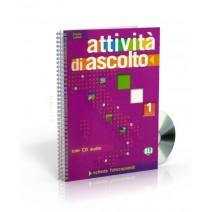 Attività di ascolto 1 + CD audio - 9788853600172