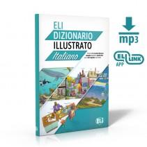 ELI  Dizionario  illustrato + książka cyfrowa i materiał audio - 9788853627032
