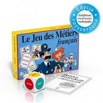 Le Jeu des Métiers - gra językowa z polską instrukcją i suplementem - 9788881480852