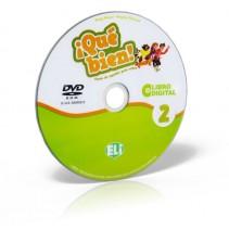 ¡Qué bien! 2 - libro digital - podręcznik + ćwiczenia + przewodnik na DVD-ROM - 9788853624864