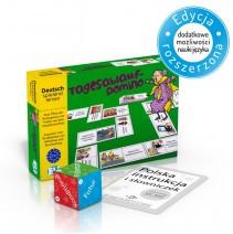 Das Tagesablauf-Domino - gra językowa z polską instrukcją i suplementem - 9788853625861