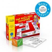 The Busy Day Dominoes - gra językowa z polską instrukcją i suplementem - 9788853625847