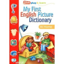 My First English Picture Dictionary - At home - 9788881488261