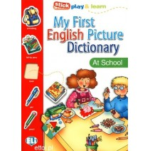 My First English Picture Dictionary - At School - 9788881488315