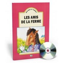 Raconte et chante -  Les amis de la ferme + CD audio - 9788885148642