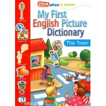 My First English Picture Dictionary - The Town - 9788881488360