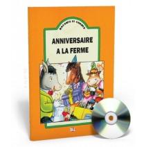 Raconte et chante - Anniversaire à la ferme + CD audio - 9788885148659