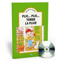 Raconte et chante - Plic... plic,  tombe la pluie + CD audio - 9788885148666