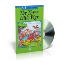 The Three Little Pigs + CD audio - 9788881482351