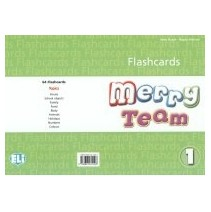 Merry Team 1 Flashcards - 9788853611093