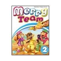 Merry Team 2 Activity Book + Pupil's CD audio - 9788853611017