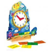 El Reloj - nauka czasu zegarowego i daty - język hiszpański - 9788881484751