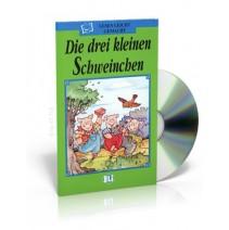 Die drei kleinen Schweinchen + CD audio - 9788881482450