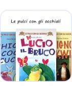 Le pulci con gli occhiali: lektury włoskie dla dzieci: A1-A2