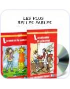Les plus belles fables bajki po francusku dla maluchów do nauki języka