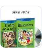 Serie verde A1: bajki do nauki hiszpańskiego dla dzieci, nauka słówek