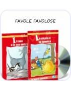 Prime letture Favole favolose: bajki po włosku dla maluchów, do nauki