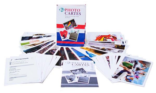 karty fotograficzne do konwersacji język francuski photo cartes eli