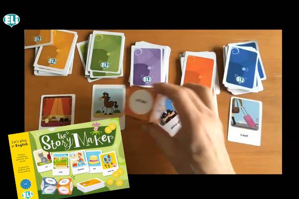 """Andy Cowle prezentuje naszą nową grę edukacyjną """"The Story Maker"""""""