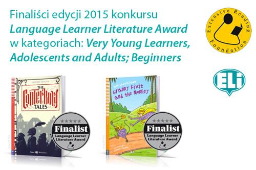 Lektury językowe ELI nominowane do Extensive Reading Awards 2015