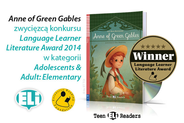 "LEKTURA ELI ""ANNE OF GREEN GABLES"" ZWYCIĘZCĄ EXTENSIVE READING AWARDS"